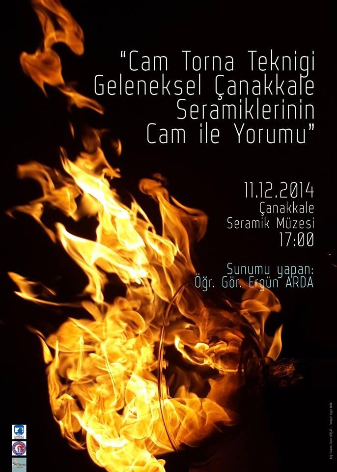 Cam Torna Tekniği, Geleneksel Çanakkale Seramiklerinin Cam ile Yorumu