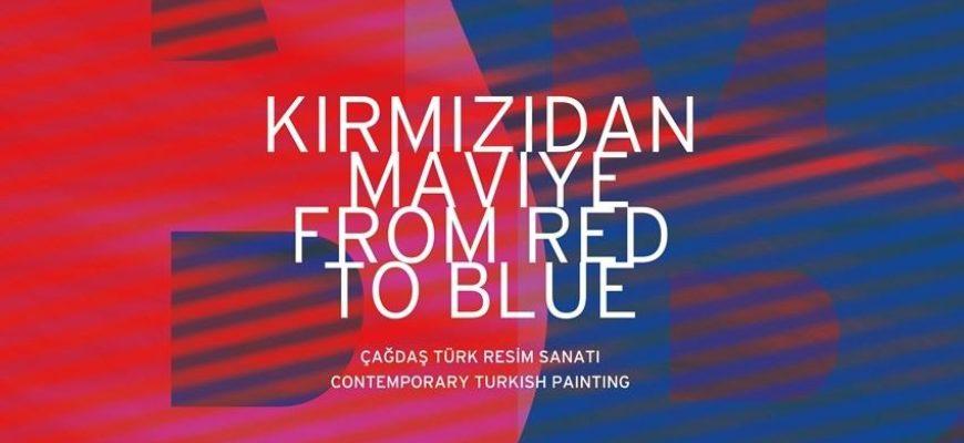 """Savaştan Barışa Geçişin Sergisi: """"Kırmızıdan Maviye"""""""