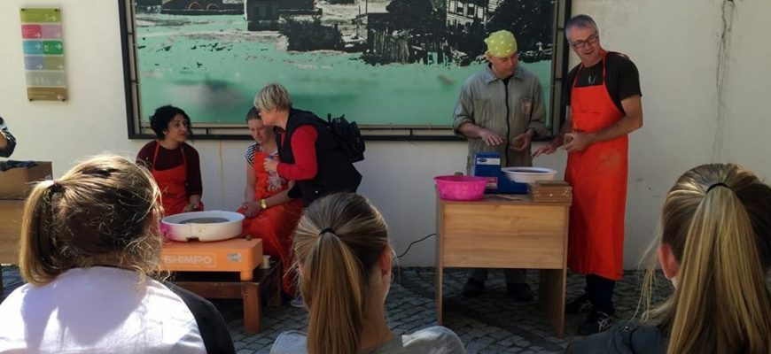 Avustralyalı ve Türk Öğrenciler Seramik Müzesinde Buluştu