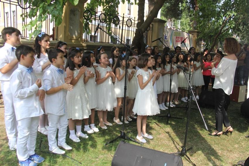 Çocuk Kültür Evi Yıl Sonu Buluşması Büyüledi