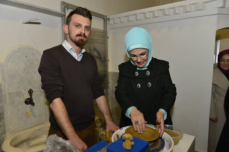 Emine Erdoğan'dan Müzeye Ziyaret