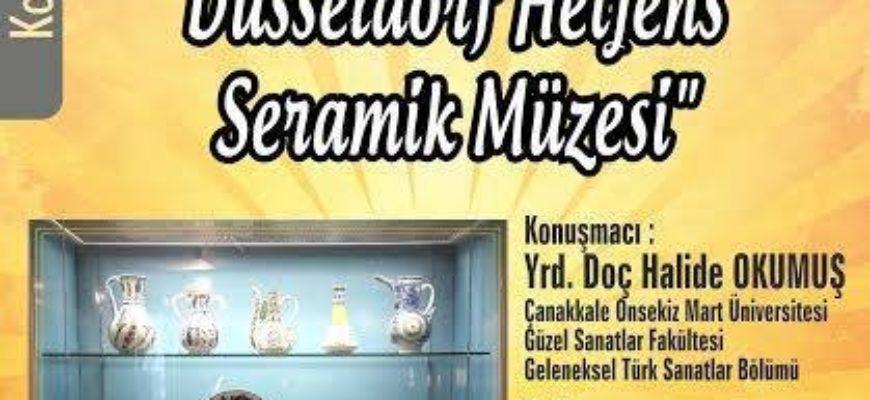 Çanakkale Seramikleri ve Düsseldorf Hetjens Seramik Müzesi