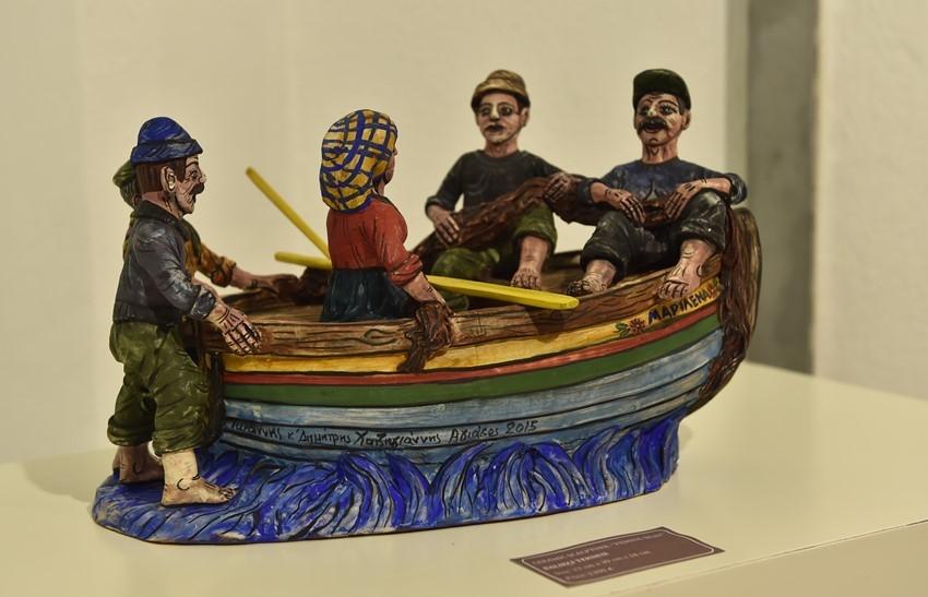 Hatzigiannis Ailesinin Seramik Eserleri Müzede Sergileniyor