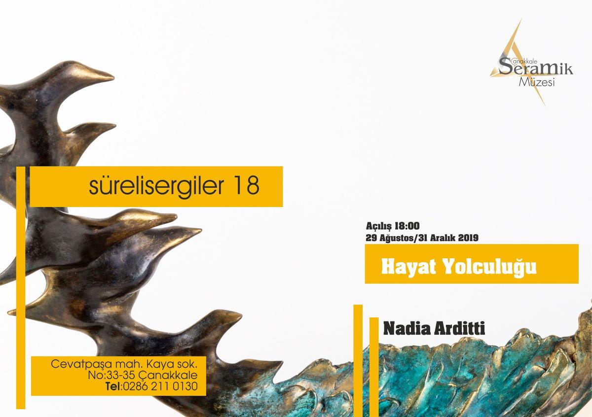 Nadia Arditti Bronz Heykel Sergisi / Süreli Sergi #18
